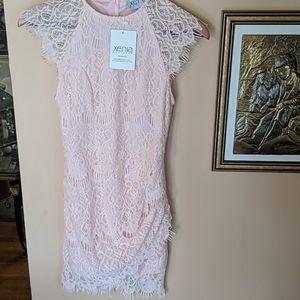 NWT Pink lace dress